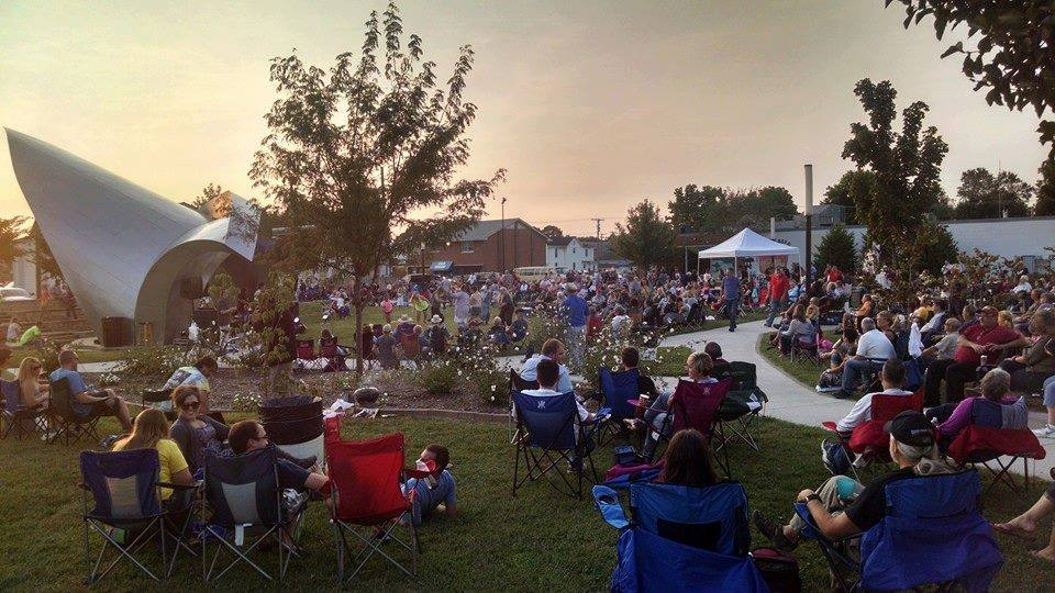 Miss jubilee sunset concert southern illinois tourism - The wedding garden carbondale il ...