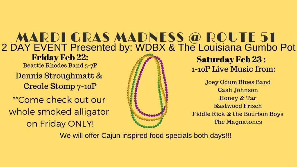 2 Day Mardi Gras Event - Southern Illinois Tourism